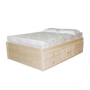Ліжко двоспальне л-402 Скіф
