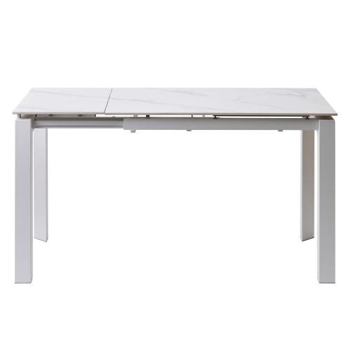 стіл обідній bright (брайт) white marble Concepto