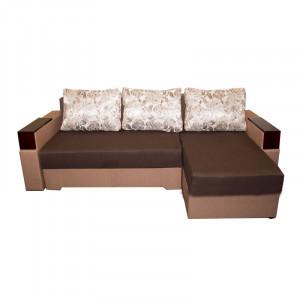 Кутовий диван магнолія, коричневий Анвит