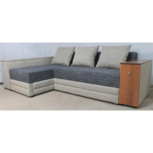 Кутовий диван Модерн (modern) ІІ - кут з баром 267см, єврокн. Orbita