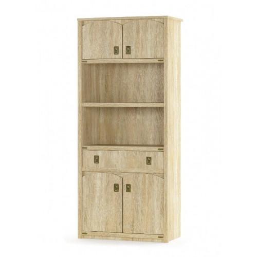 книжный шкаф 4д + 1ш, детская модульная валенсия Мебель Сервис