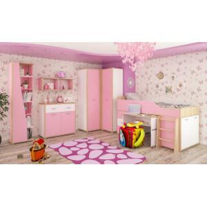 Комплект №3, детская модульная система лео Мебель Сервис