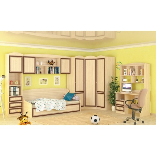 Детская модульная дисней, набор №1 Мебель Сервис
