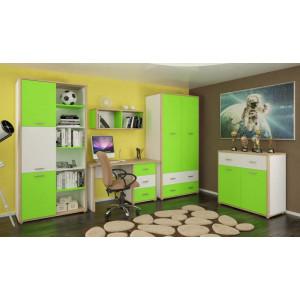 Комплект №2, детская модульная система лео Мебель Сервис