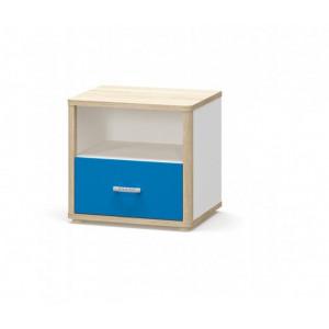 Тумба прикроватная 1шт, детская модульная система лео Мебель Сервис