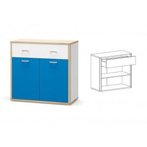 Комод 2д1ш, детская модульная система лео Мебель Сервис