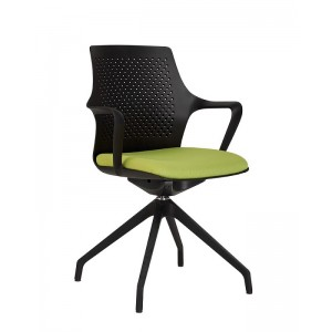 Кресло GEMINA black SWG PL68-4S Новый стиль