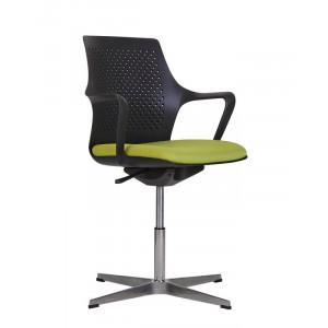 Кресло GEMINA black SWG CROSS Новый стиль