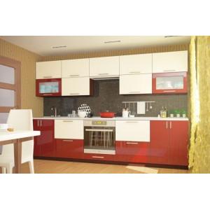 Кухня колор-микс, Кухня №10 (3 м) ВИП Мастер
