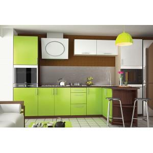 Кухня мода, Кухня №20 (3,2+1,7 м) ВИП Мастер