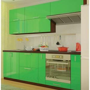 Кухня колор-микс, Кухня №23 (2,2 м) ВИП Мастер