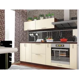 Кухня колор-микс, Кухня №12 (2,2 м) ВИП Мастер