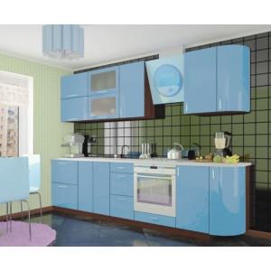 Кухня колор-мікс, Кухня №4 (2,9 м) ВІП Мастер
