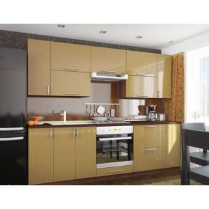Кухня колор-микс, Кухня №16 (2,4 м) ВИП Мастер