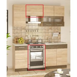 Кухня грета, комплект №2 Мебель Сервис