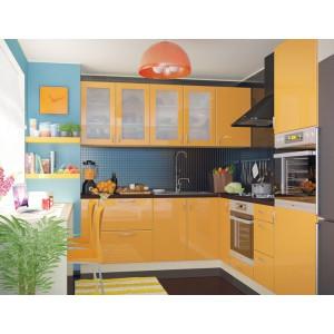 Кухня колор-микс, Кухня №19 (2,2х2,6 м) ВИП Мастер