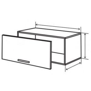 №11 верх витрина (стандарт), кухня грация ВИП Мастер