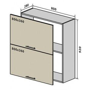 №61 верх окап (стандарт), кухня грація ВІП Мастер