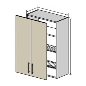 №47 верх сушка (стандарт), кухня interno ВІП Мастер