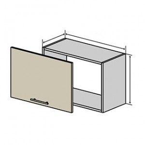 №13 верх окап (стандарт), кухня interno ВІП Мастер