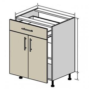 №30 низ (стандарт), кухня interno ВІП Мастер