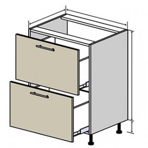 №10 низ шухляди (стандарт), кухня interno ВІП Мастер