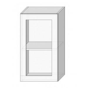 Кухня софия люкс (sofia lux), 40 верх витрина Сокме