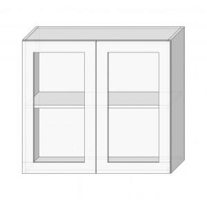 Кухня софія люкс (sofia lux), 80 верх вітрина сушка Сокме