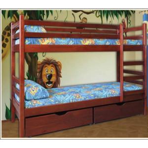 Ліжко Кенгуру -двох'ярусне (без ламелей)