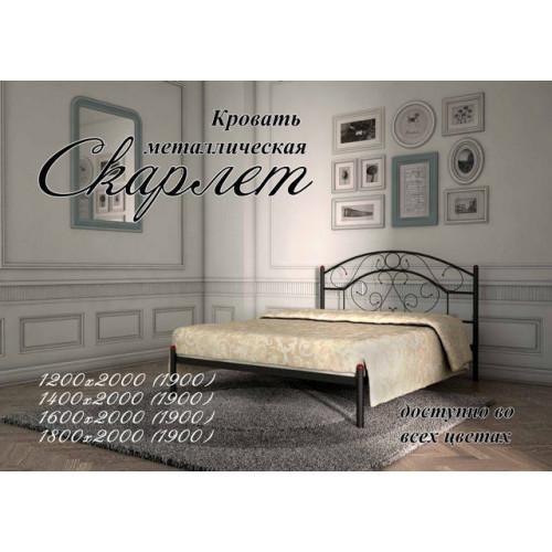 Кровать скарлет Металл-дизайн