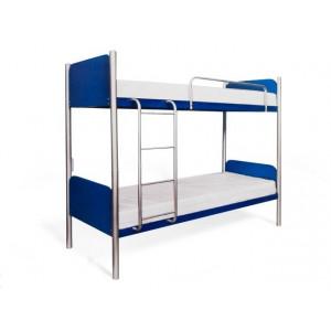 Ліжко двоярусне арлекіно Метал-дизайн