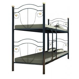 Ліжко двоярусне діана Метал-дизайн