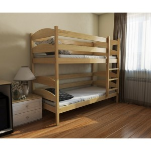 Ліжко двоярусне лаккі Lunasvit
