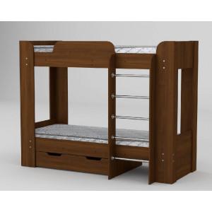 Двоярусне ліжко твікс-2 (компаніт) Компаніт