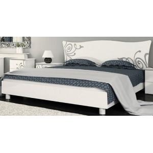 Ліжко з каркасом та підйомним механізмом, спальня Богема, BG-46/48-WB/BL Міромарк