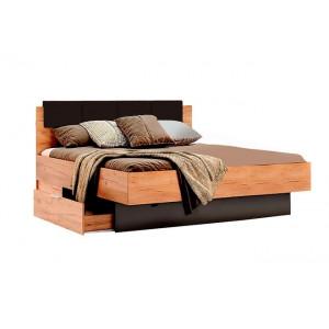 Кровать 1,6х2,0 с ящиками, спальня луна, ln-36-lv Миромарк