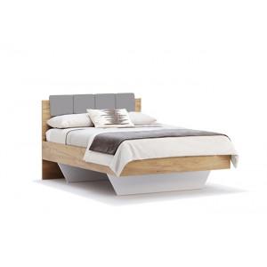 Ліжко1,4х2,0м, м'яка спинка без каркасу, спальня Рамона, RA-34-LV Міромарк