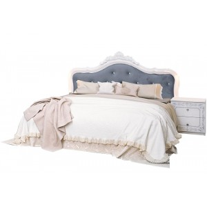 Ліжко без каркасу, Спальня Луїза, LZ-36/38-WB
