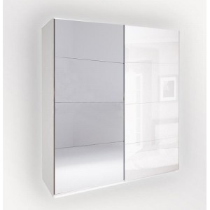 шафа-купе 2,5м, дзеркало спальня прованс,pv-16-wb Міромарк