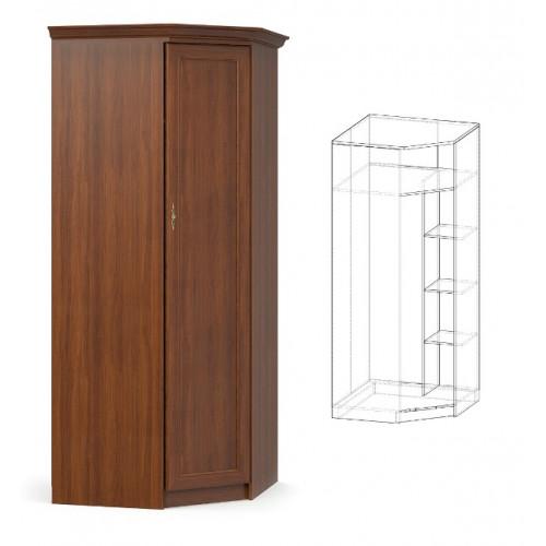 Шкаф угловой, спальня даллас Мебель Сервис