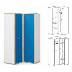 Шкаф угол, детская модульная система лео Мебель Сервис