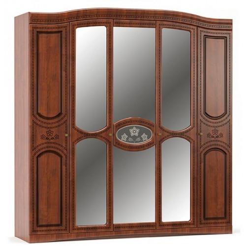 Шкаф 5/д, спальня милано Мебель Сервис