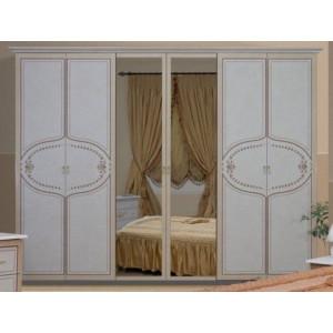 Шафа 6дв, спальня Мартіна, (MR-16-RB) Міромарк