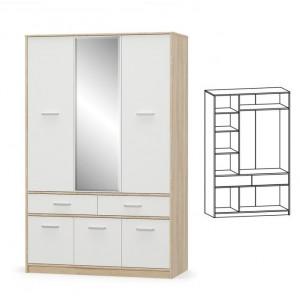 Шкаф 6д2ш, модульна система типс Мебель Сервис