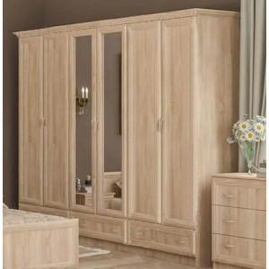 Шкаф 6/д, спальня соната Мебель Сервис