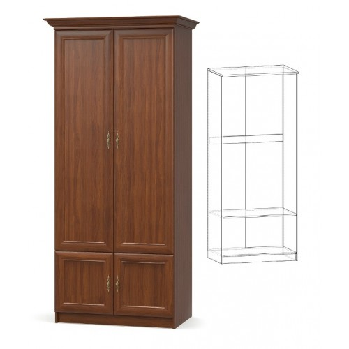 Шкаф 2д, спальня даллас Мебель Сервис