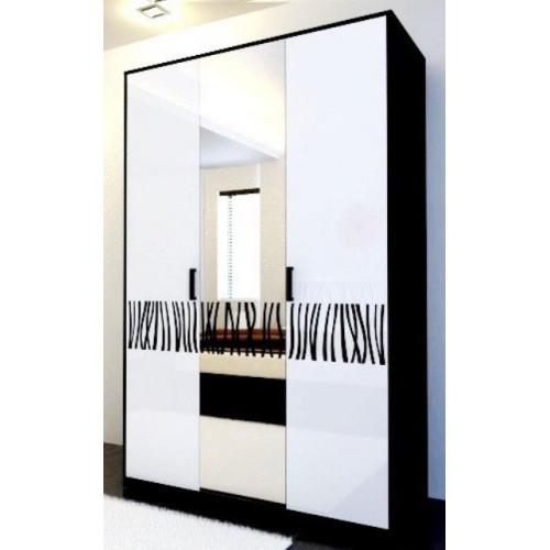 Шкаф 3дв, спальня терра, (TR-13-WB) Миромарк