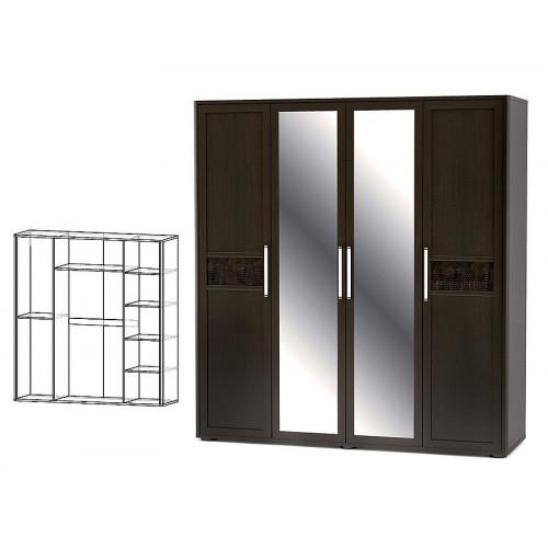 Шкаф 4д, спальня токио Мебель Сервис