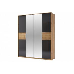 шафа 4дв дзеркало, спальня рамона, ra-14-lv Міромарк