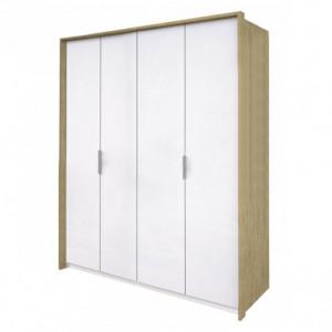 шафа 4дв без дзеркал, спальня флоренція, fr-24-wb Міромарк